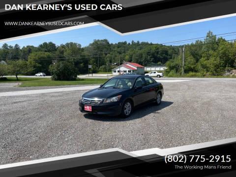 2011 Honda Accord for sale at DAN KEARNEY'S USED CARS in Center Rutland VT