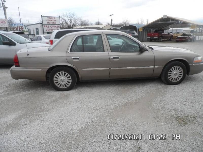 2005 Mercury Grand Marquis for sale at Town and Country Motors in Warsaw MO