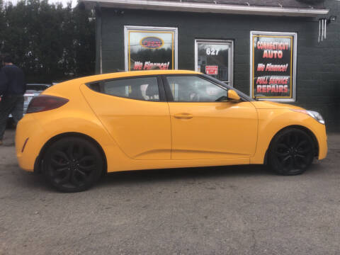 2013 Hyundai Veloster for sale at Connecticut Auto Wholesalers in Torrington CT