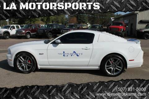 2014 Ford Mustang for sale at LA MOTORSPORTS in Windom MN