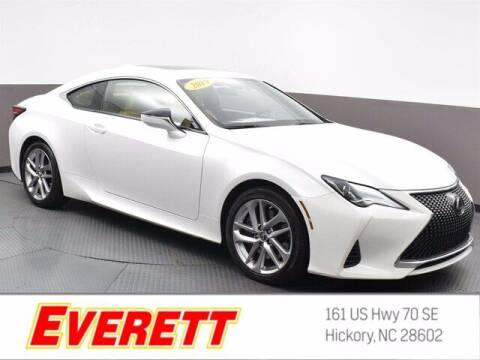 2019 Lexus RC 300 for sale at Everett Chevrolet Buick GMC in Hickory NC
