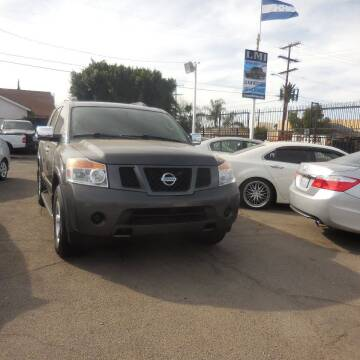 2012 Nissan Armada for sale at Luxor Motors Inc in Pacoima CA