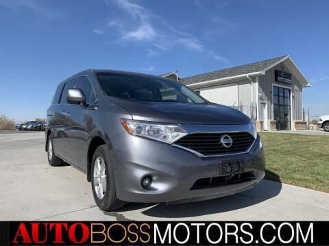 2015 Nissan Quest for sale at Auto Boss in Woodscross UT