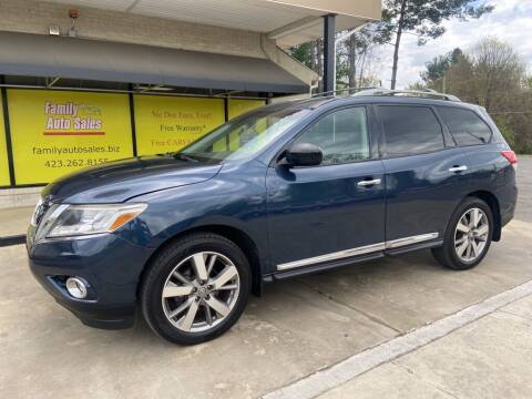 2013 Nissan Pathfinder for sale at Family Auto Sales of Johnson City in Johnson City TN