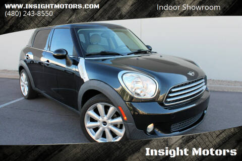 2011 MINI Cooper Countryman for sale at Insight Motors in Tempe AZ