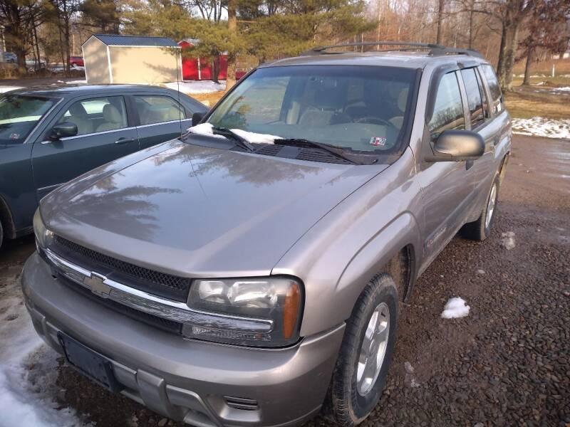 2003 Chevrolet TrailBlazer for sale at Seneca Motors, Inc. (Seneca PA) in Seneca PA