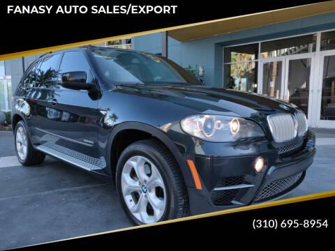 2011 BMW X5 for sale at FANASY AUTO SALES/EXPORT in Yorba Linda CA