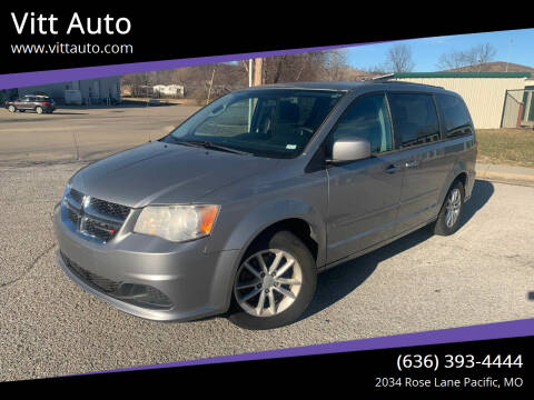 2013 Dodge Grand Caravan for sale at Vitt Auto in Pacific MO