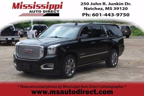 2016 GMC Yukon XL for sale at Auto Group South - Mississippi Auto Direct in Natchez MS