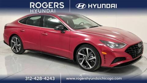 2021 Hyundai Sonata for sale at ROGERS  AUTO  GROUP in Chicago IL