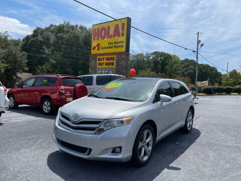 2013 Toyota Venza for sale at No Full Coverage Auto Sales in Austell GA