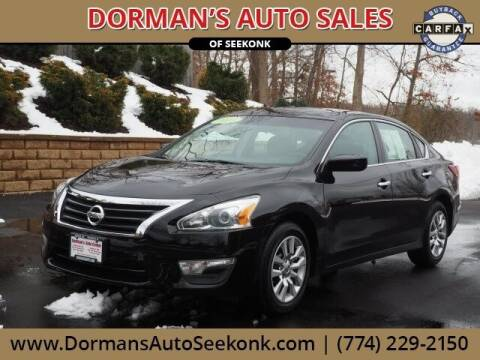 2013 Nissan Altima for sale at DORMANS AUTO CENTER OF SEEKONK in Seekonk MA