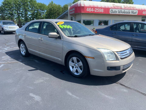 2008 Ford Fusion for sale at Doug White's Auto Wholesale Mart in Newton NC
