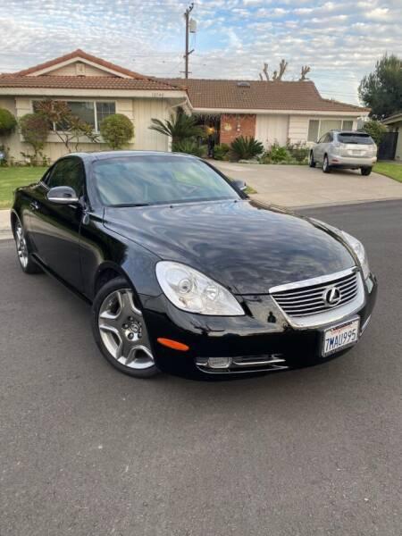2008 Lexus SC 430 for sale at SoCal Motors in Los Alamitos CA