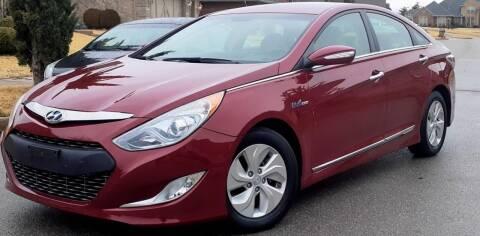 2015 Hyundai Sonata Hybrid for sale at Automay Car Sales in Oklahoma City OK