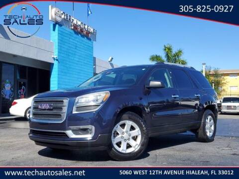 2016 GMC Acadia for sale at Tech Auto Sales in Hialeah FL