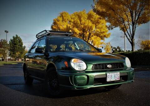 2002 Subaru Impreza for sale at Accolade Auto in Hillsboro OR
