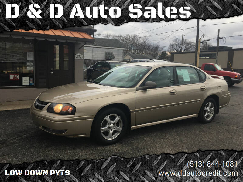 2005 Chevrolet Impala for sale at D & D Auto Sales in Hamilton OH