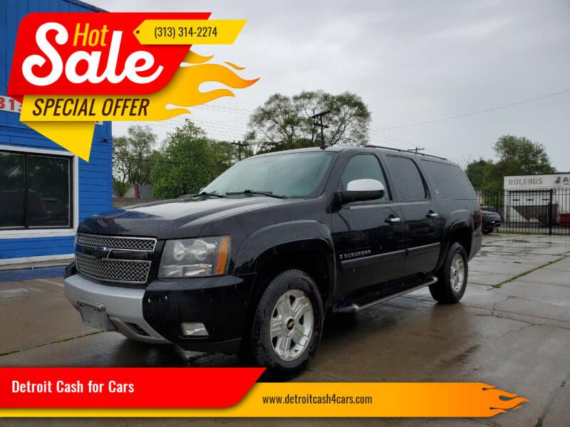 2008 Chevrolet Suburban for sale at Detroit Cash for Cars in Warren MI