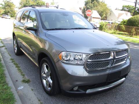 2012 Dodge Durango for sale at First Choice Automobile in Uniondale NY