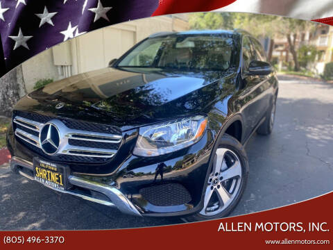 2018 Mercedes-Benz GLC for sale at Allen Motors, Inc. in Thousand Oaks CA