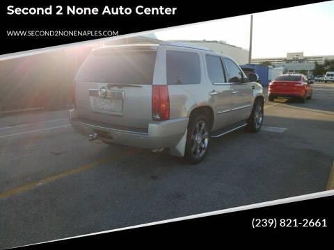 2007 Cadillac Escalade for sale at Second 2 None Auto Center in Naples FL