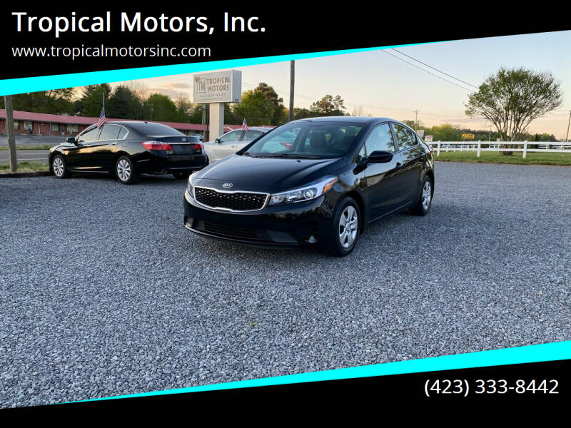 2017 Kia Forte for sale at Tropical Motors, Inc. in Riceville TN