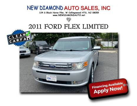 2011 Ford Flex for sale at New Diamond Auto Sales, INC in West Collingswood Heights NJ