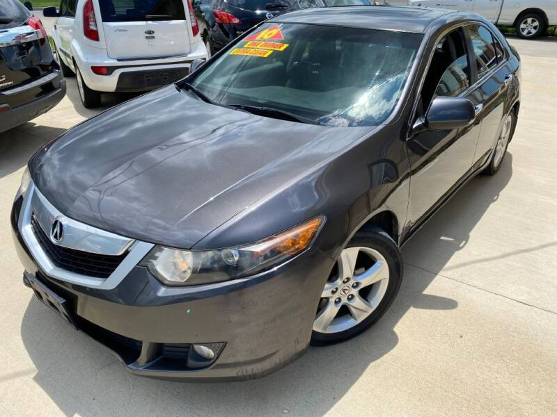 2010 Acura TSX for sale at Raj Motors Sales in Greenville TX
