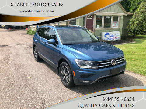 2018 Volkswagen Tiguan for sale at Sharpin Motor Sales in Columbus OH