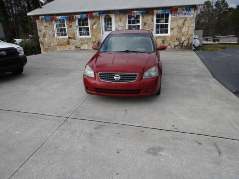 2005 Nissan Altima for sale at Flywheel Auto Sales Inc in Woodstock GA