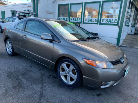 2007 Honda Civic for sale at Barnes Auto Group in Chicago IL