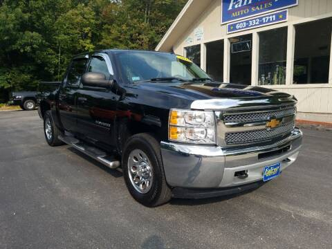 2013 Chevrolet Silverado 1500 for sale at Fairway Auto Sales in Rochester NH