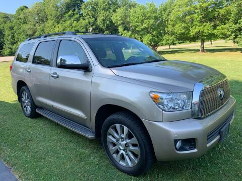 2008 Toyota Sequoia for sale at Trocci's Auto Sales in West Pittsburg PA