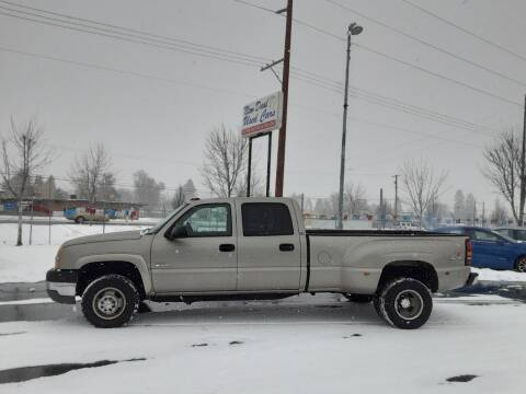 2003 Chevrolet Silverado 3500 for sale at New Deal Used Cars in Spokane Valley WA