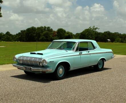 1963 Dodge Polara for sale at P J'S AUTO WORLD-CLASSICS in Clearwater FL