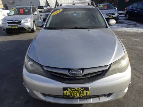 2011 Subaru Impreza for sale at MOUNTAIN VIEW AUTO in Lyndonville VT