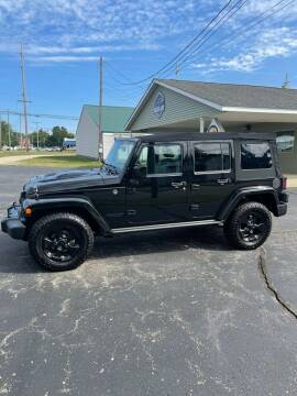 2015 Jeep Wrangler Unlimited for sale at Austin Auto in Coldwater MI