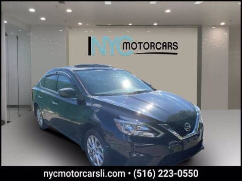 2017 Nissan Sentra for sale at NYC Motorcars in Freeport NY