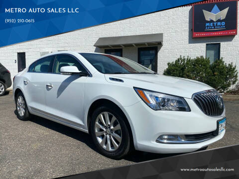 2015 Buick LaCrosse for sale at METRO AUTO SALES LLC in Blaine MN