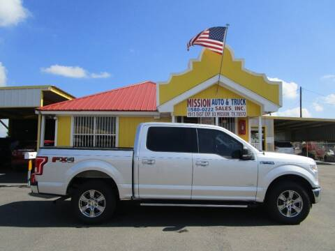 2015 Ford F-150 for sale at Mission Auto & Truck Sales, Inc. in Mission TX