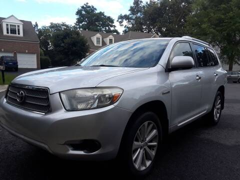2008 Toyota Highlander Hybrid for sale at M & M Auto Brokers in Chantilly VA