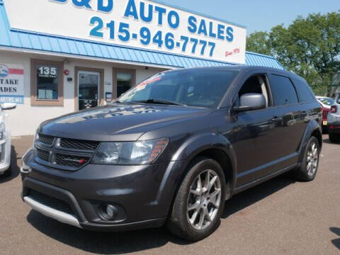 2015 Dodge Journey for sale at B & D Auto Sales Inc. in Fairless Hills PA