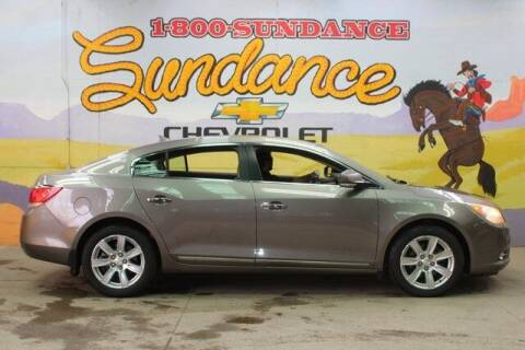 2012 Buick LaCrosse for sale at Sundance Chevrolet in Grand Ledge MI