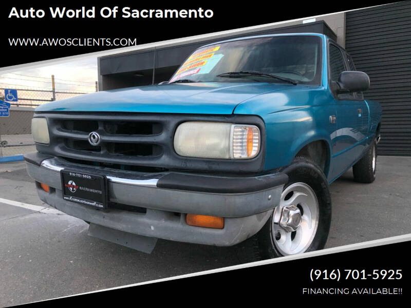 1996 Mazda B-Series Pickup for sale at Auto World of Sacramento Stockton Blvd in Sacramento CA