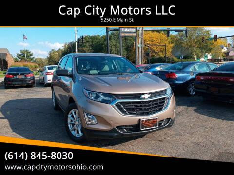 2019 Chevrolet Equinox for sale at Cap City Motors LLC in Columbus OH