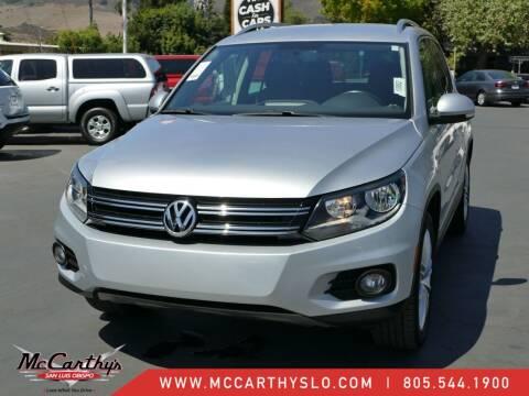 2013 Volkswagen Tiguan for sale at McCarthy Wholesale in San Luis Obispo CA