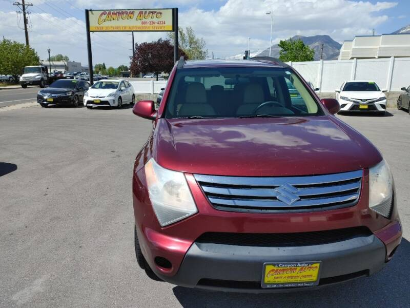 2008 Suzuki XL7 for sale at Canyon Auto Sales in Orem UT