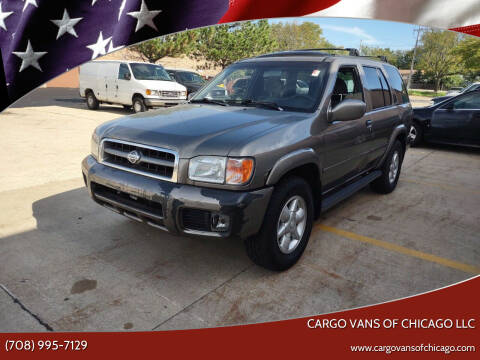 2001 Nissan Pathfinder for sale at Cargo Vans of Chicago LLC in Mokena IL