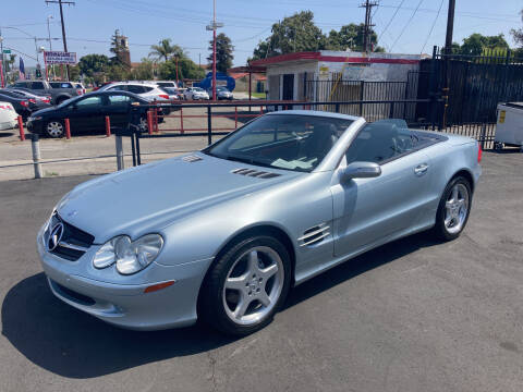 2004 Mercedes-Benz SL-Class for sale at Pacific West Imports in Los Angeles CA